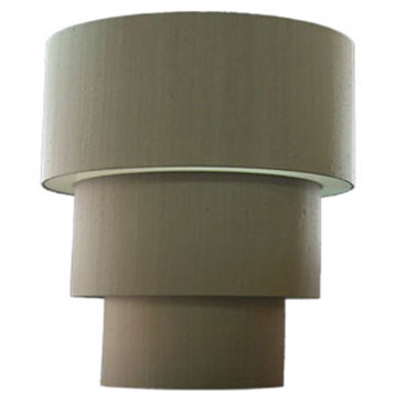 3 Tiered Drum Shade Diffused