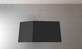 Tapered Square Lampshade