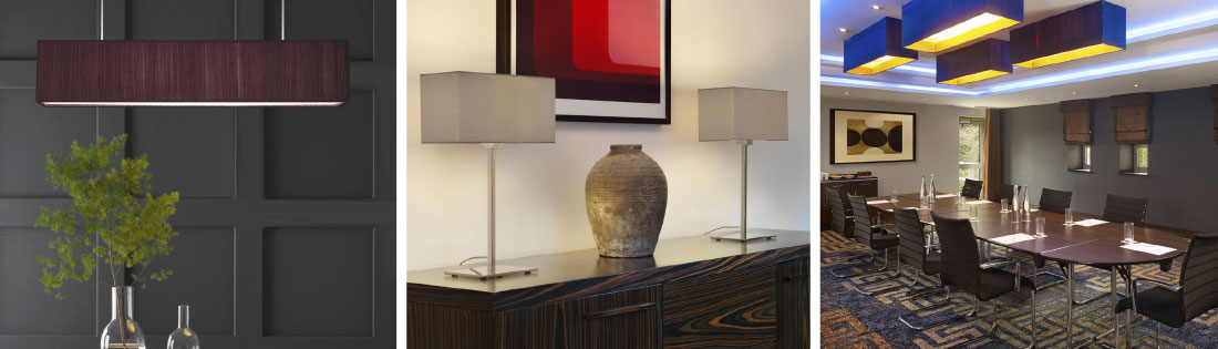 Rectangle Lamp Shades
